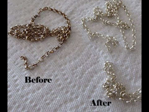 Cheap & easy way to clean tarnished jewlry