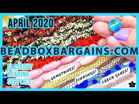 ✨april 2020   bead box bargains ✨beaded jewelry making products ✨online shopping   closeout prices