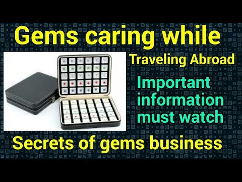How should we take care of gems during travelling. {full guidance} by #gemstonedeal