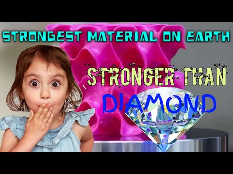 Strongest material on earth - stronger than diamond   science & technology   hardest metal