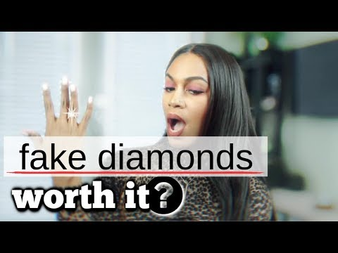 Are fake diamonds worth it?!! *honest review*   jeulia review