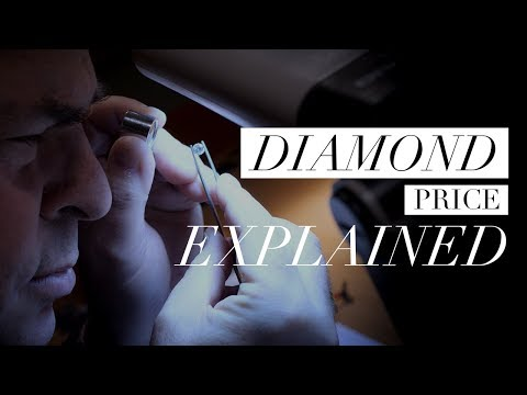 Diamond price explained: what are the 'four cs'?