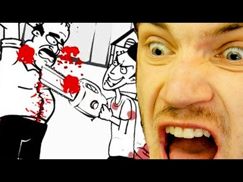 Too much gore! -- whack your neighbor