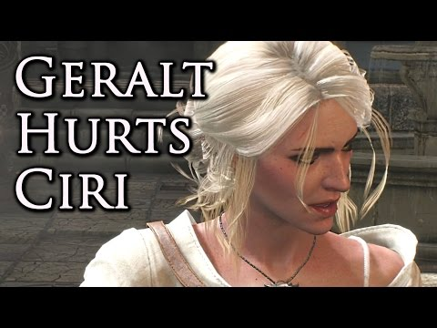 Witcher 3: geralt trades ciri for gold to emhyr (her father)