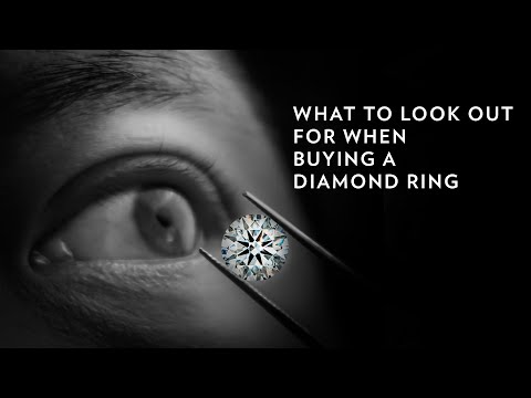 What to look out for when buying a diamond ring | 6 important diamond tips |