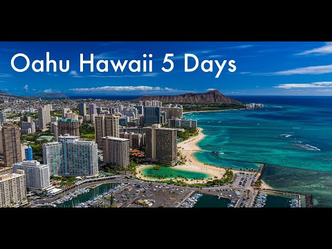 Oahu hawaii 5 days itinerary   things to do   best attractions