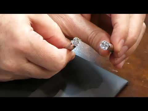 Cubic zirconia vs diamond | how to tell if a diamond is real