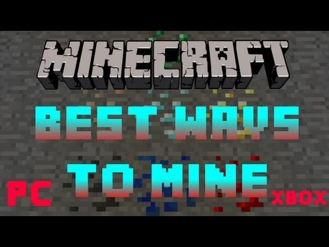 How to find diamond, iron, gold, etc in minecraft quickly