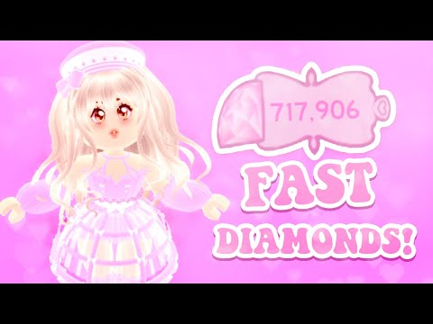 How to get 100,000 diamonds fast! best & easiest ways to get super rich on roblox royale high school