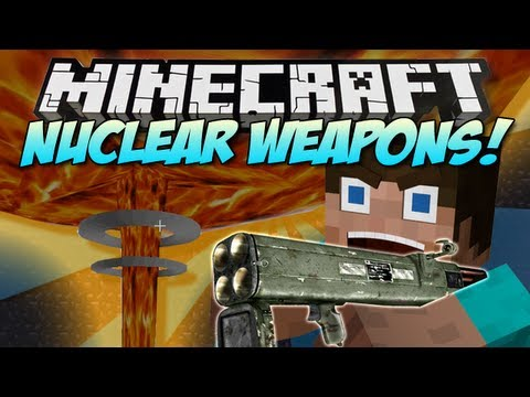 Minecraft | nuclear weapons! (rival rebels!) | mod showcase [1.5.1]