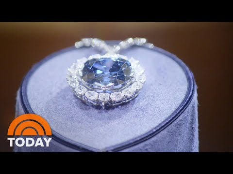 Piece of mail in smithsonian once contained the hope diamond | today