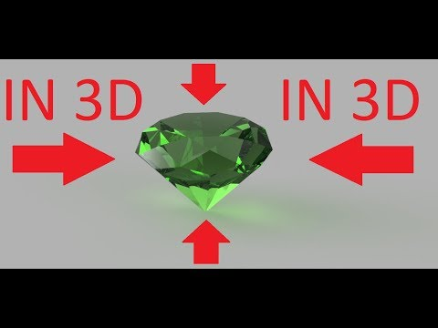 How to create diamond in 3d using autodesk fusion 360