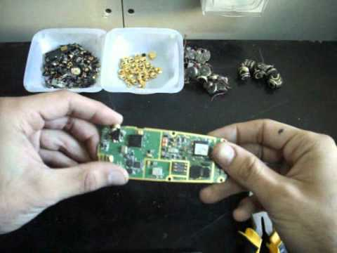 How to scrap old cell phones for *gold recovery