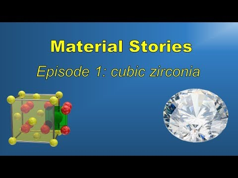 The story of cubic zirconia: far more than just fake diamond