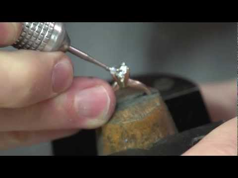 How to set a stone in a ring