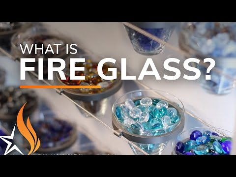 What is fire glass? a brief segment (by starfire direct)