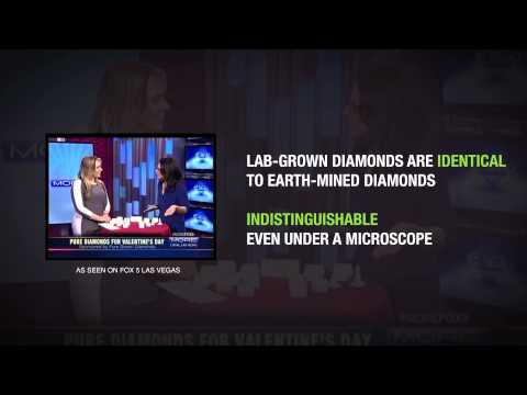 What are pure grown diamonds?