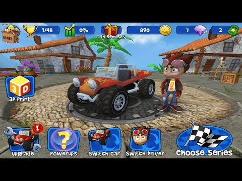 Beach buggy racing🚕 unlimited diamond and coins*gameplay for kid #1