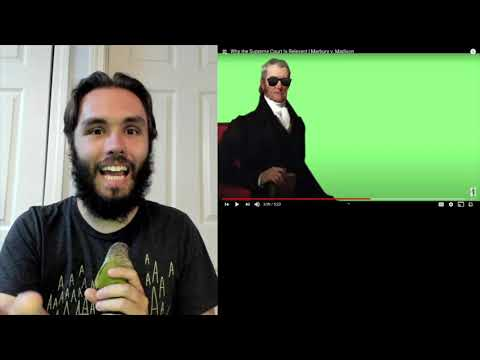 Historian reacts | why the supreme court is relevant | marbury v. madison (mr. beat)