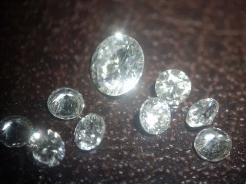 Diamonds removal from: white gold jewellry