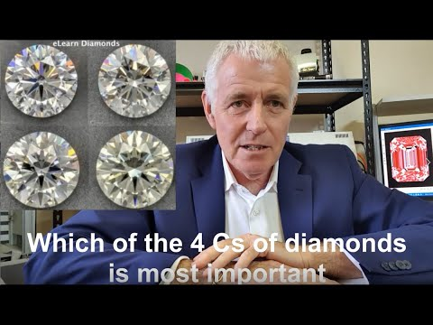 Which of the 4 cs of diamonds is most important?