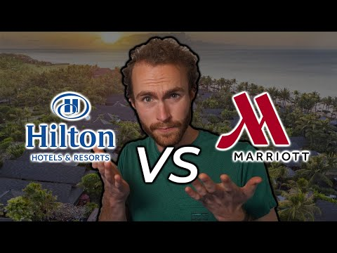 Hilton or marriott // which one is the better hotel chain to earn rewards?