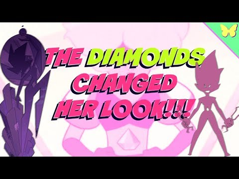 Why does pink diamond look so different?!! - steven universe stranded theory - lets talk cartoons