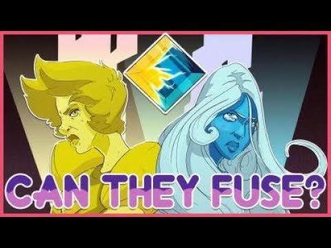 The diamonds can't fuse - steven universe theory
