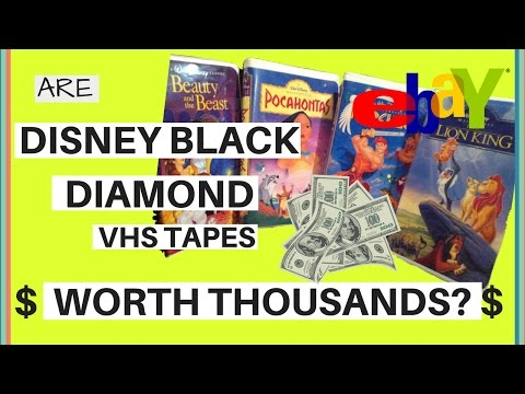 ❖ the truth: are disney black diamond vhs tapes selling for thousands on ebay?! video