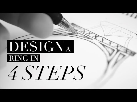 Design a diamond engagement ring in 4 steps