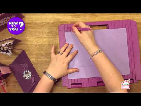 How to make beautiful boxes using a score board with leann chivers | new to you