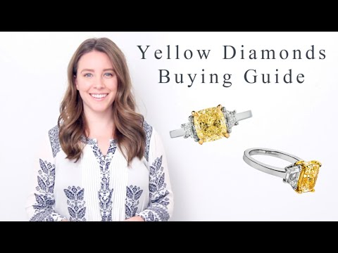 Yellow diamonds buying guide - all you need to know about canary diamonds