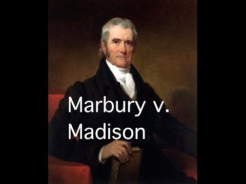 Marbury v. madison (story time with mr. beat)