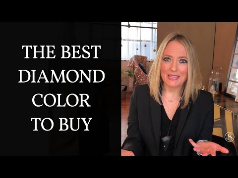 Diamond color chart - what is the best color letter for a diamond?