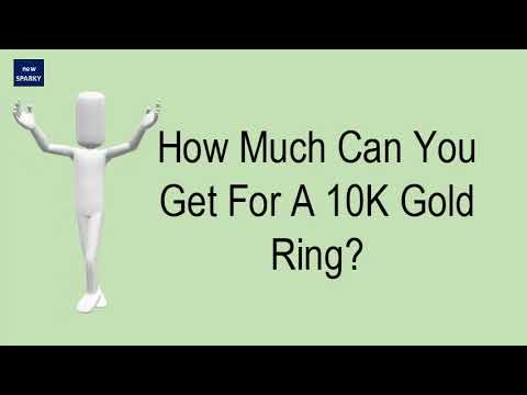 How much can you get for a 10k gold ring?