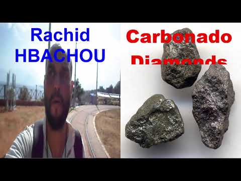 What are carbonados and black diamonds? - rachid hbachou