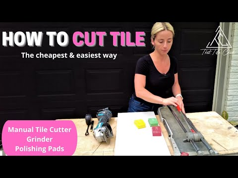 How to cut tile: the fastest & cheapest way