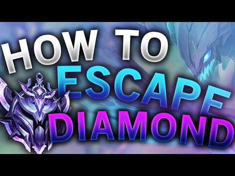 How to escape diamond elo in league of legends