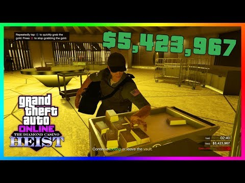 Gta 5 online the diamond casino heist dlc update - money glitch! how to get 4x the max payouts!