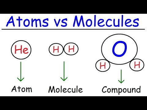 Elements, atoms, molecules, ions, ionic and molecular compounds, cations vs anions, chemistry
