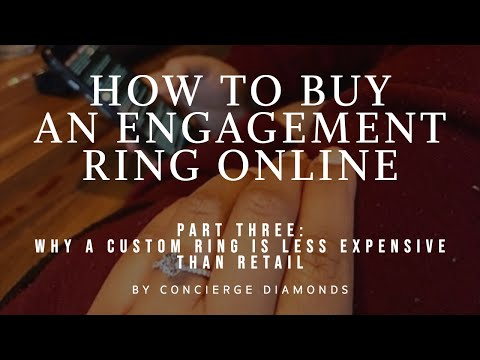 Part three: how to buy an engagement ring - why a custom ring is less expensive