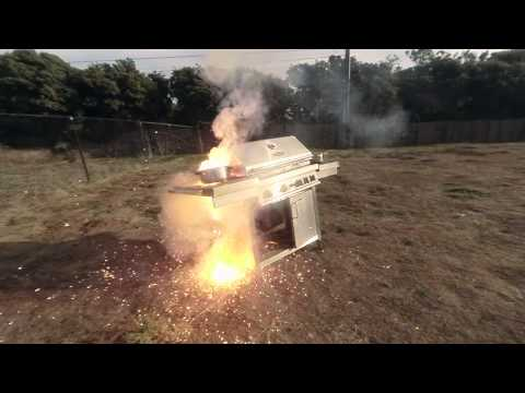 Boom show- 5 pounds of thermite