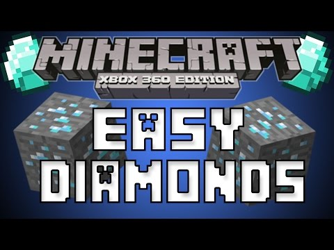 How to find diamonds in minecraft xbox 360 edition, xbox one, ps3, ps4, and pc