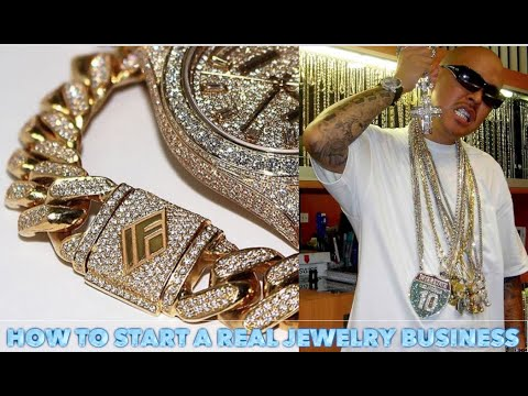 How to start a jewelry business with $1000 like ben baller and tv johnny ( real gold and diamonds)