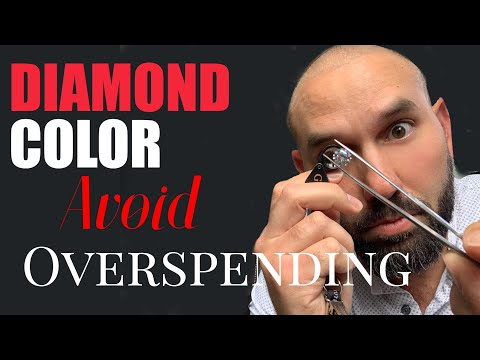 Diamond color buying guide: comparing color & 3 tips to save you money on your engagement ring