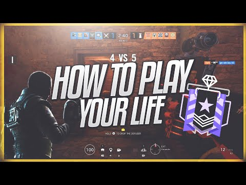 How to play your life in rainbow six siege | plat to diamond tips (ranked)