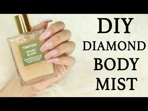 How to diy diamond glow mist ! for less than 10$
