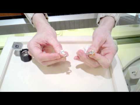 How to tell if a diamond is real or fake. imagesjewelers.com