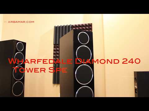 Wharfedale diamond 240 tower speakers review
