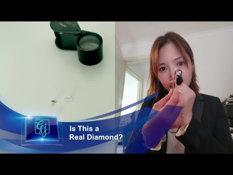 Is this a real diamond?